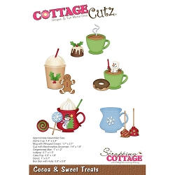 Cottage Cutz - Die - Cocoa & Sweet Treats