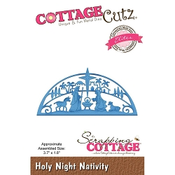 Cottage Cutz - Die - Holy Night Nativity (Elite)