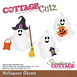 Cottage Cutz - Die - Halloween Ghosts
