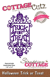 Cottage Cutz - Die - Halloween Trick Or Treat  (Elites)