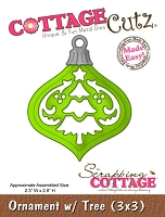 Cottage Cutz - Die - Ornament with Tree