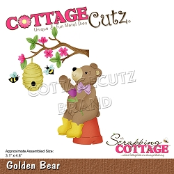 Cottage Cutz - Die - Golden Bear