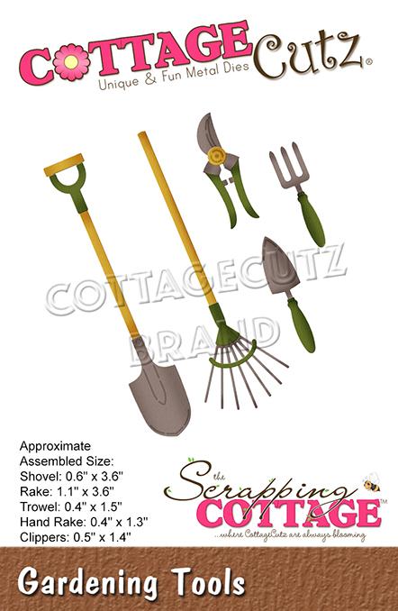 Cottage Cutz Die Gardening Tools