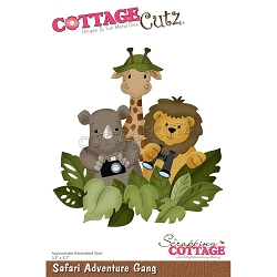 Cottage Cutz - Die - Safari Adventure Gang
