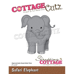 Cottage Cutz - Die - Safari Elephant