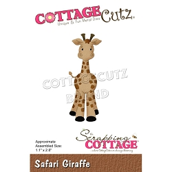 Cottage Cutz - Die - Safari Giraffe