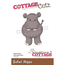 Cottage Cutz - Die - Safari Hippo