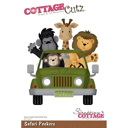 Cottage Cutz - Die - Safari Peekers