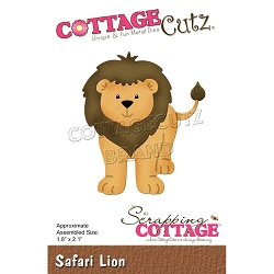 Cottage Cutz - Die - Safari Lion