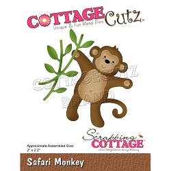 Cottage Cutz - Die - Safari Monkey