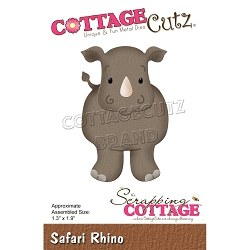 Cottage Cutz - Die - Safari Rhino