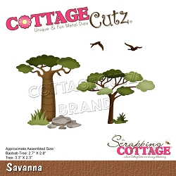 Cottage Cutz - Die - Savanna