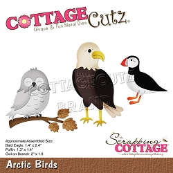 Cottage Cutz - Die - Arctic Birds