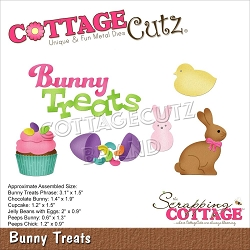 Cottage Cutz - Die - Bunny Treats