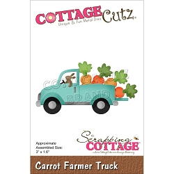 Cottage Cutz - Die - Carrot Farmer Truck