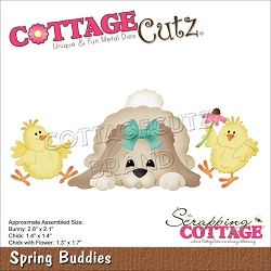 Cottage Cutz - Die - Spring Buddies