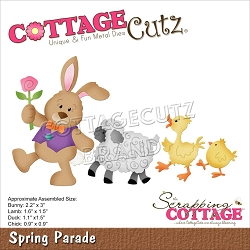 Cottage Cutz - Die - Spring Parade