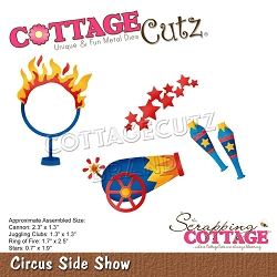 Cottage Cutz - Die - Circus Side Show