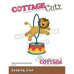 Cottage Cutz - Die - Leaping Lion