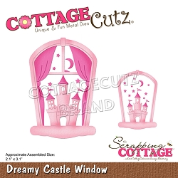 Cottage Cutz - Die - Dreamy Castle Window