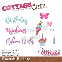 Cottage Cutz - Die - Fairytale Birthday