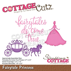 Cottage Cutz - Die - Fairytale Princess