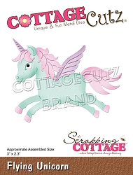 Cottage Cutz - Die - Flying Unicorn
