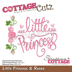 Cottage Cutz - Die - Little Princess & Roses