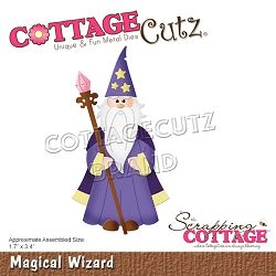 Cottage Cutz - Die - Magical Wizard