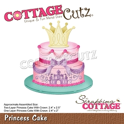 Cottage Cutz - Die - Princess Cake