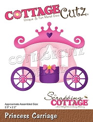 Cottage Cutz - Die - Princess Carriage