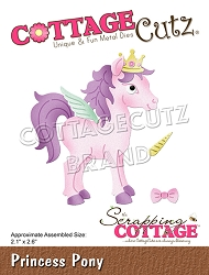 Cottage Cutz - Die - Princess Pony