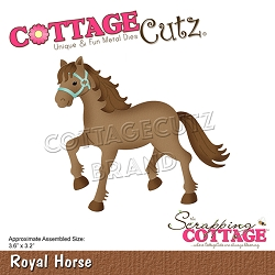 Cottage Cutz - Die - Royal Horse