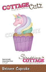 Cottage Cutz - Die - Unicorn Cupcake