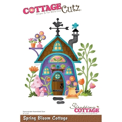 Cottage Cutz - Die - Spring Bloom Cottage