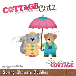 Cottage Cutz - Die - Spring Showers Buddies