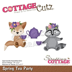 Cottage Cutz - Die - Spring Tea Party