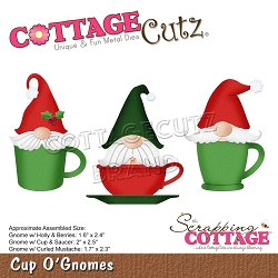 Cottage Cutz - Die - Cup O' Gnomes