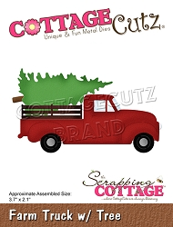 Cottage Cutz - Die - Farm Truck w/ Tree