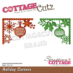 Cottage Cutz - Die - Holiday Corners