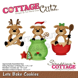 Cottage Cutz - Die - Lets Bake Cookies