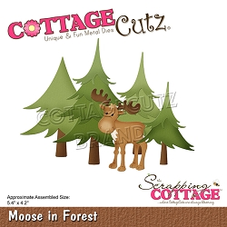 Cottage Cutz - Die - Moose In Forest