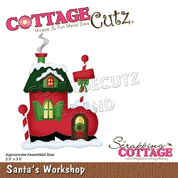 Cottage Cutz - Die - Santa's Workshop