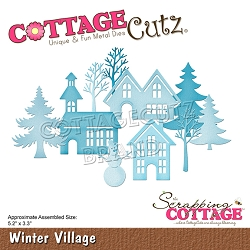 Cottage Cutz - Die - Winter Village