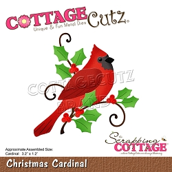 Cottage Cutz - Die - Christmas Cardinal