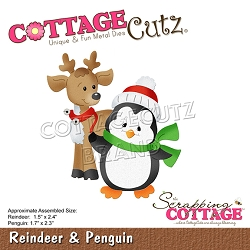Cottage Cutz - Die - Reindeer & Penguin
