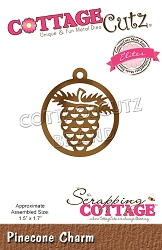 Cottage Cutz - Die - Pinecone Charm (Elites)
