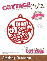 Cottage Cutz - Die - Stocking Ornament (Elites)