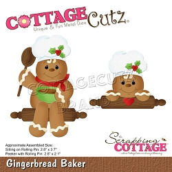 Cottage Cutz - Die - Gingerbread Baker