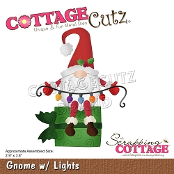 Cottage Cutz - Die - Gnome W/Lights